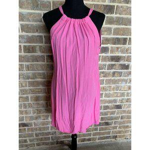 Escapada travel pink sleeveless tunic dress XS